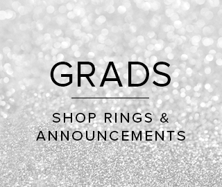 Picture of Sparkling background. Grads. Click to shop rings & announcements.